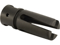 "Product detail of Smith Enterprise Vortex G6A2 Flash Hider 1/2""-28 Thread with Pin Hole AR-15 Matte"