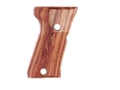 Product detail of Hogue Fancy Hardwood Grips Beretta 92FS Compact Checkered Tulipwood