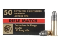 Product detail of RWS Rifle Match Ammunition 22 Long Rifle 40 Grain Lead Round Nose