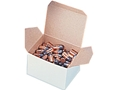 "Product detail of MidwayUSA Storage Box 3-1/4"" x 2-5/8"" x 2-3/16"" Cardboard White Box of 100"