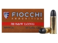 Product detail of Fiocchi Cowboy Action Ammunition 32 S&W Long 97 Grain Lead Round Nose Box of 50
