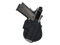 Product detail of Fobus Thumb Break Paddle Holster Right Hand Sig Sauer 220, 225, 226, 228, 229, 245, S&W 3913, 4013, 5906, 6906 Polymer Black