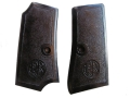 Product detail of Vintage Gun Grips Beretta 1934 Early Model, Inserts Only Polymer Black