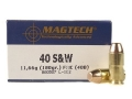 Product detail of Magtech Sport Ammunition 40 S&W 180 Grain Full Metal Jacket