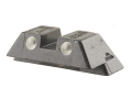 "Product detail of Glock Rear Sight 6.9mm .271"" Height Steel Black Tritium"