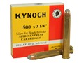 "Product detail of Kynoch Ammunition 500 Black Powder Express 3-1/4"" 440 Grain Woodleigh Weldcore Soft Point Box of 5"