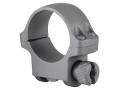 "Product detail of Ruger 1"" Ring Mount 3KHM Silver Matte Low"