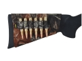 Product detail of Allen Buttstock Rifle Ammunition Carrier 6-Round Neoprene Mossy Oak Break-Up Camo