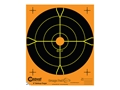 "Product detail of Caldwell Orange Peel Targets 8"" Self-Adhesive Bullseye Package of 25"
