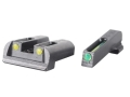 Product detail of TRUGLO TFO Sight Set Sig Sauer #6 Front #8 Rear Steel Tritium / Fiber Optic