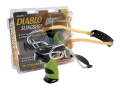 Product detail of Barnett Diablo Slingshot Polymer Handle Green and Black