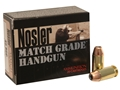 Product detail of Nosler Match Grade Ammunition 45 ACP 230 Grain Jacketed Hollow Point