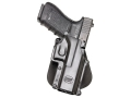 Product detail of Fobus Paddle Holster Right Hand Glock 20, 21, 37, 38 Polymer Black