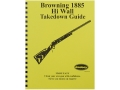 "Product detail of Radocy Takedown Guide ""Browning 1885 H.W."""