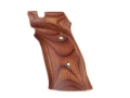 Product detail of Hogue Fancy Hardwood Grips S&W 41 Right Hand Thumb Rest Rosewood Laminate