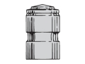 Thumbnail Image: Product detail of Saeco 2-Cavity Bullet Mold #053 38 Special, 357 M...
