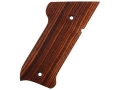 Product detail of Majestic Arms Target Grips Ruger Mark II, III Ambidextrous A-Grade Walnut