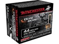 Product detail of Winchester Supreme Elite Dual Bond Ammunition 44 Remington Magnum 240 Grain Jacketed Hollow Point