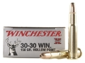 Product detail of Winchester Super-X Ammunition 30-30 Winchester 150 Grain Hollow Point
