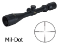 Product detail of BSA Contender Mil-Dot Target Rifle Scope 3-9x 40mm Adjustable Objective Mil-Dot Reticle Matte