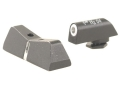 Product detail of XS 24/7 Express Sight Set Glock 17, 19, 22, 23, 24, 26, 27, 31, 32, 33, 34, 35 Steel Matte Tritium