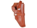 "Product detail of Hunter Hip Belt Holster Right Hand Taurus Judge 3"" Chamber 3"" Barrel Leather Brown"
