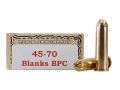 Product detail of Ten-X Cowboy Ammunition 45-70 Government Blank BPC Box of 20