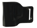 Product detail of DeSantis L-Gat Slide Outside the Waistband Holster Left Handed Glock 17, 22, 23, 26, 27 Leather Black