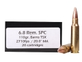Product detail of Doubletap Ammunition 6.8mm Remington SPC 110 Grain Barnes Triple-Shoc...