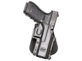 Product detail of Fobus Paddle Holster Right Hand Makarov Polymer Black