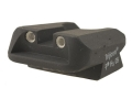 Thumbnail Image: Product detail of Novak Carry Rear Sight 1911 Standard Rear Cut Ste...