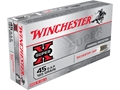 Product detail of Winchester Super-X Ammunition 45 GAP 185 Grain Silvertip Hollow Point