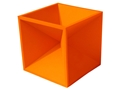"Product detail of Do-All Impact Seal Ground Bouncing Hot Box 4"" Reactive Target Self Healing Polymer Orange"