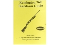 "Product detail of Radocy Takedown Guide ""Remington 760"""