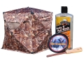 Product detail of Rhino Rut N Strut Ground Blind Combo Polyester Realtree Timber Camo