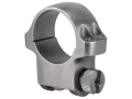 "Product detail of Ruger 1"" Ring Mount 4K Silver Medium"