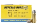 Product detail of Buffalo Bore Ammunition 45 Colt (Long Colt) +P 325 Grain Lead Long Flat Nose