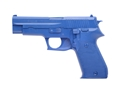 Product detail of BlueGuns Firearm Simulator Sig Sauer P220 Polyurethane Blue