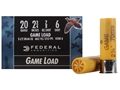 "Product detail of Federal Game-Shok Game Load Ammunition 20 Gauge 2-3/4"" 7/8 oz #6 Shot Box of 25"