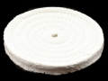 "Product detail of Formax 6"" Diameter 1/2"" Thick Spiral Sewn Cotton Buffing and Polishin..."