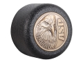 Product detail of ASP Eagle Logo Baton Cap Certified Logo Cap 4140 Steel with Brass Emblem Black