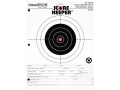"Product detail of Champion Score Keeper 50 Yard Small Bore Notebook Targets 8.5"" x 11"" Paper Orange Bull Pack of 12"