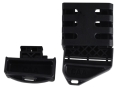 Product detail of Command Arms Modular Magazine Coupler with 2 Extended Base Pads fits AR-15 Metal Bodied Magazines Polymer Black