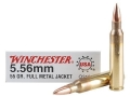 Product detail of Winchester USA Ammunition Q3131 5.56x45mm NATO 55 Grain Full Metal Jacket