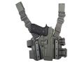 Product detail of BlackHawk Tactical Serpa Thigh Holster Right Hand Beretta 92 Polymer Foliage Green
