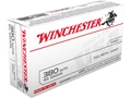 Product detail of Winchester USA Ammunition 380 ACP 95 Grain Full Metal Jacket
