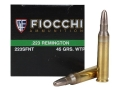 Product detail of Fiocchi Frangible Ammunition 223 Remington 45 Grain Sinterfire Wide Taper Point Lead-Free Box of 50