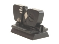 "Product detail of Marble's #69W Windage Adjustable Folding Leaf Sight .360"" Height Steel Blue"