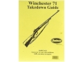"Product detail of Radocy Takedown Guide ""Winchester 71"""