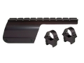 "Product detail of B-Square Shotgun Saddle Mount with 1"" Rings Benelli Nova 12 Gauge Matte"